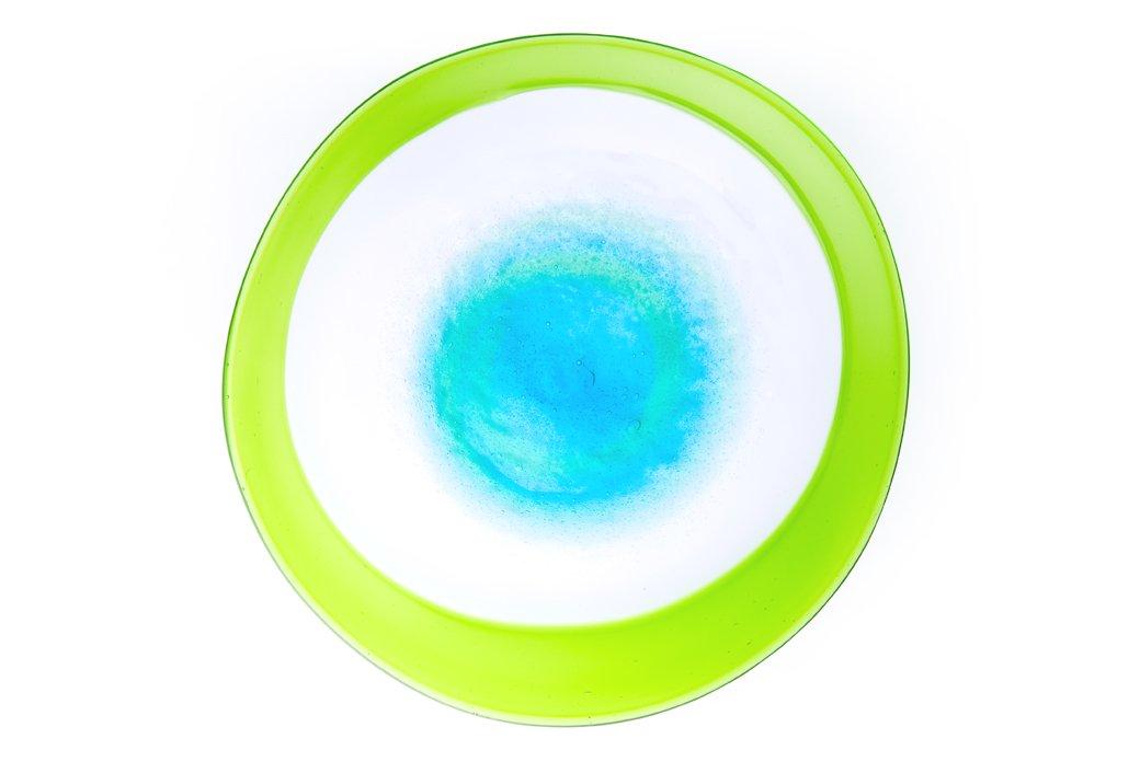 潮騒ふち巻皿L