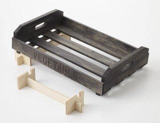 マルシェ用の傾斜台: 1箱用 (Bタイプ)