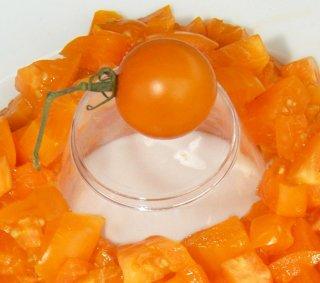 オレンジチェリートマトの種