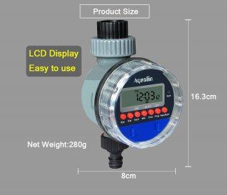 デジタル散水タイマー(電池式自動水やり機)