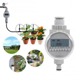 デジタル散水タイマー(ソーラー式自動水やり機)