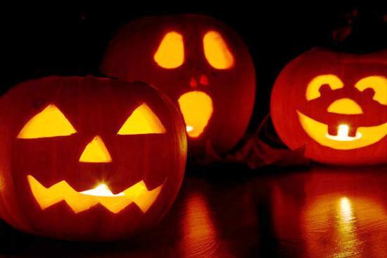 ハロウィンかぼちゃの種