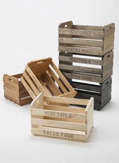 マルシェ用木箱: Lサイズ