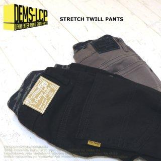 ストレッチツイルパンツ / D2164 / 130cm-160cm 【DEMS】