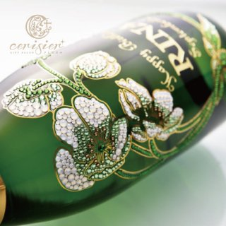 シャンパンベルエポック|名入れ彫刻 スワロフスキー装飾