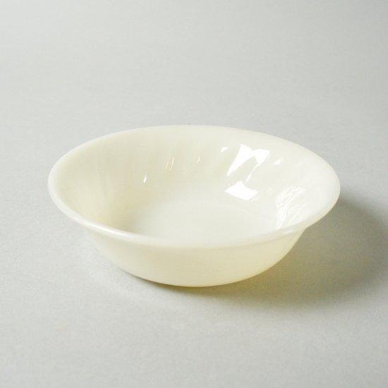 オリジナルFire KingガラスSwirl小鉢