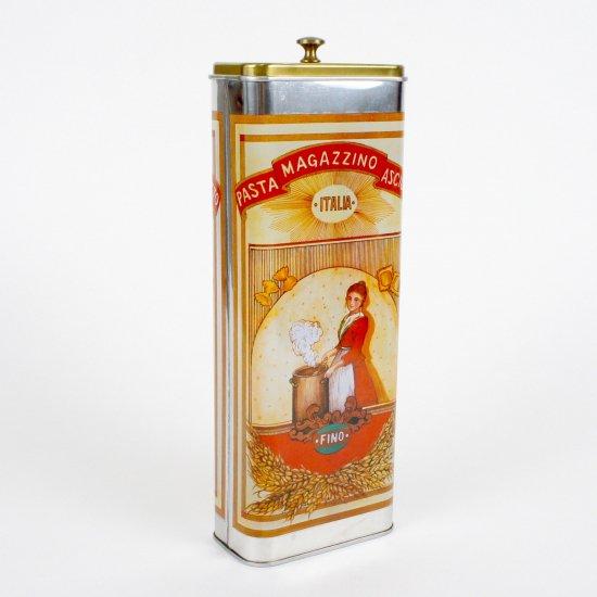 アンティークパスタ保存缶