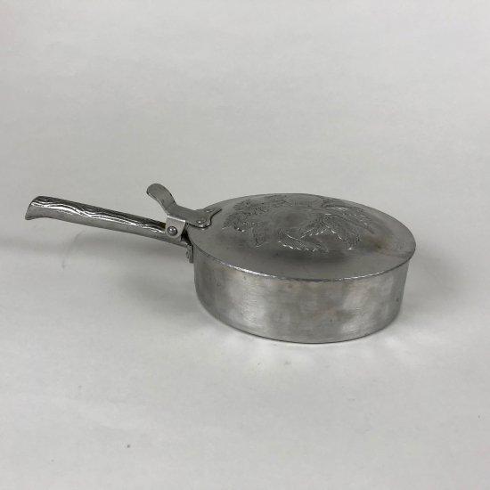 ビンテージアルミ打ち出し片手鍋