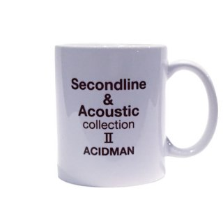 "ACIDMAN LIVE TOUR ""Second line & Acoustic collection II"" mug cup"