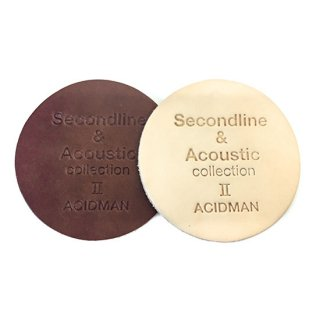 "ACIDMAN LIVE TOUR ""Second line & Acoustic collection �"" coaster set"