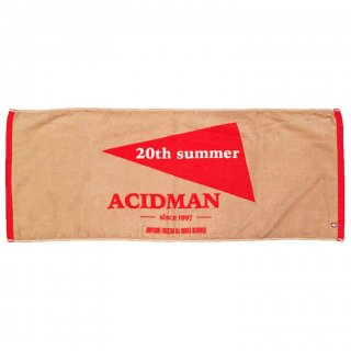 "ACIDMAN ""20th summer"" Face Towel"