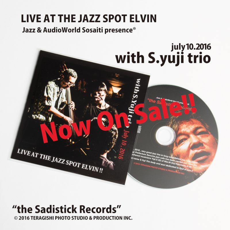 Live at the ELVIN yuji trio!!