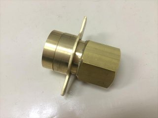 放水圧力測定器用変換アダプター (40A×25A)