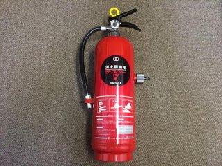 消火訓練用放射器