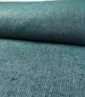 ちぢみ織り無地 白×濃グリーン