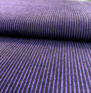 1羽縞なす紺パープル