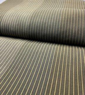 ちぢみ織り4列ストライプベージュグレー