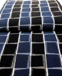 タイルスクエア 縞紺ブルー