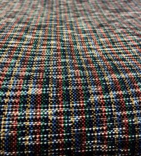 ソフトハンプ括り糸ミックスストライプ