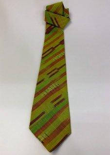 ネクタイ シルケット重ね染め