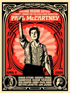 PAUL MCCARTNEY CHANGE BEGINS