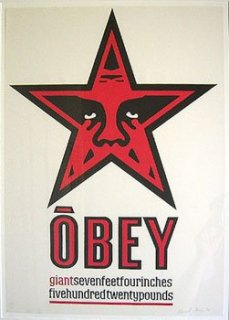 Obey Star Letterpress