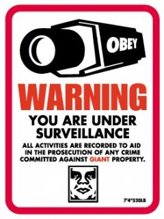 Warning Surveillance (Wall Version)