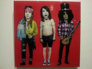 Axel Rose , Anthony Kiedis , Slash