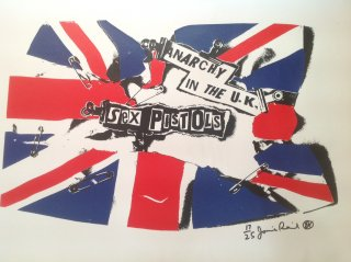 ANARCHY IN THE UK          Canvas