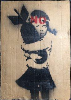 Wrong War  2003   Bomb Hugger   Placard