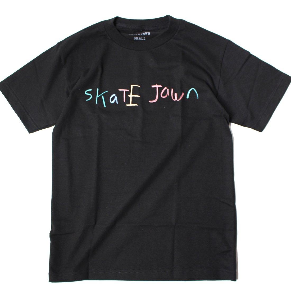 【SKATE JAWN】Cryon Tee - Black