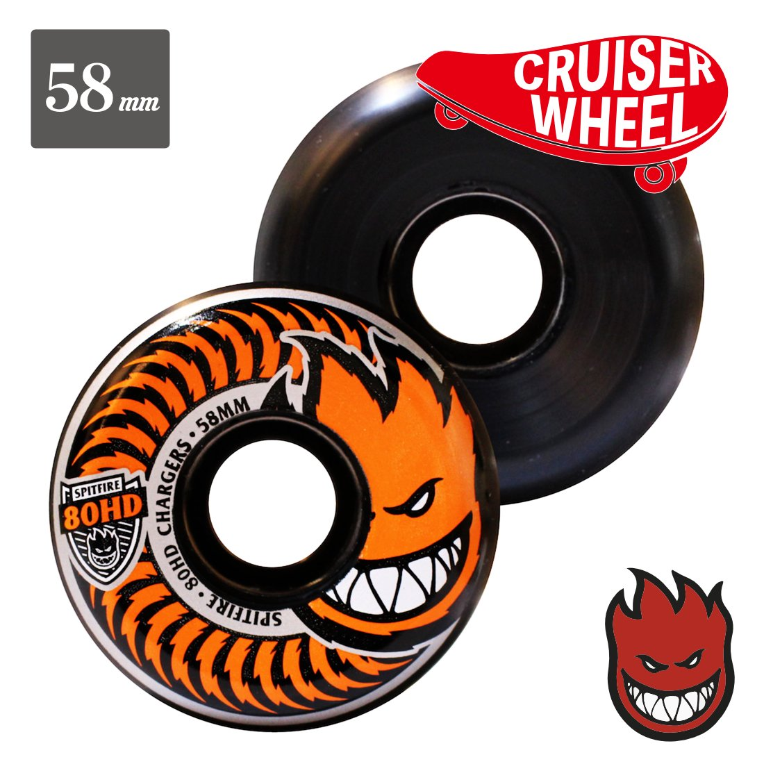 【SPITFIRE WHEEL】80HD Chargers
