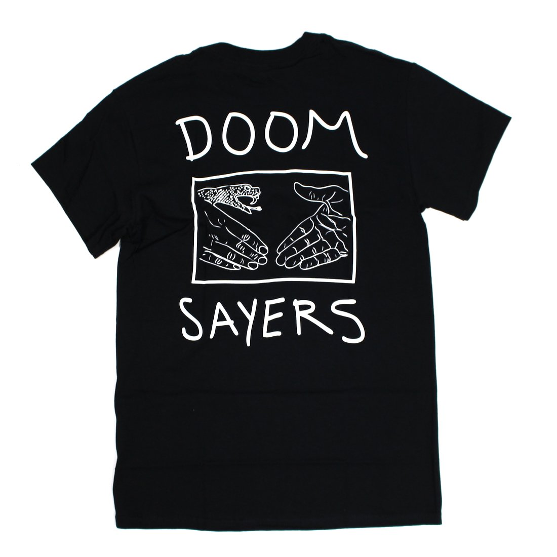 【DOOM SAYERS】Snake Shake Tee - Black
