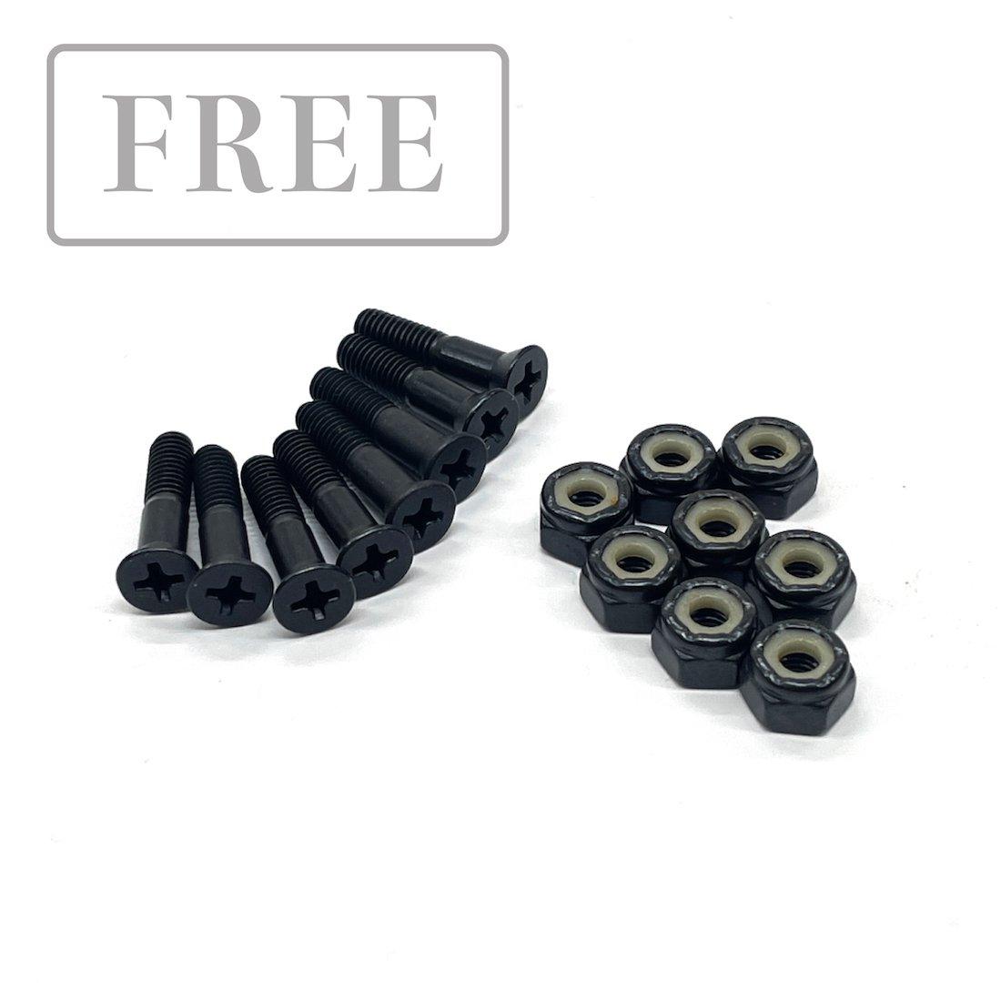 【FREE BOLT】六角ボルト 7/8 - Black