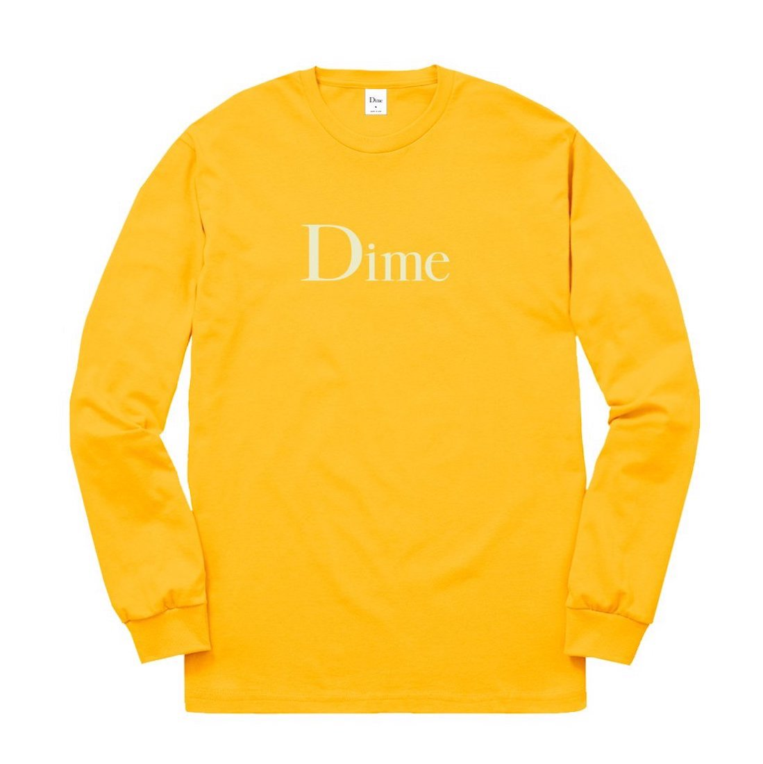 【Dime】Classic Logo L/S Tee - Gold