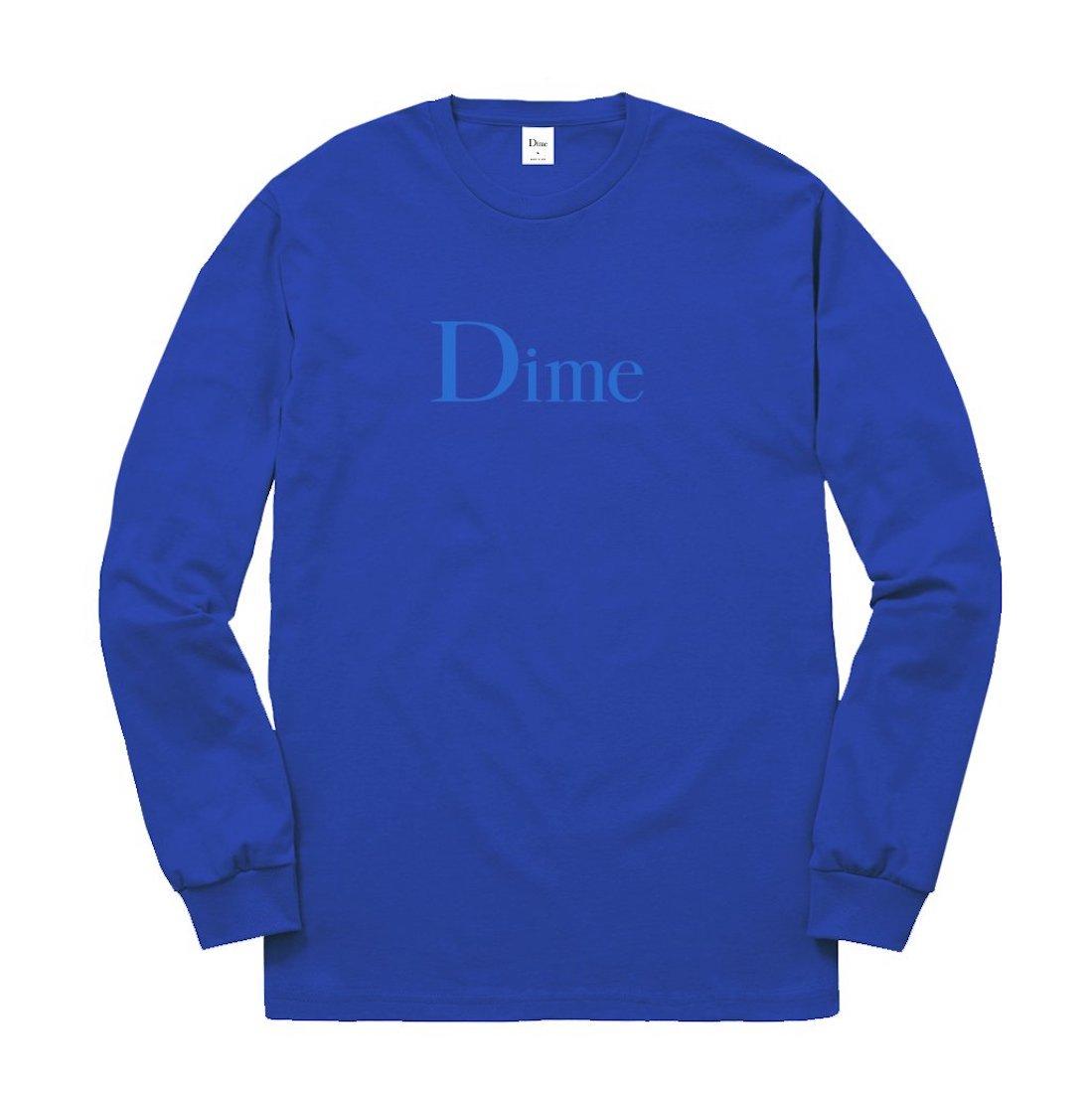【Dime】Classic Logo L/S Tee - Royal