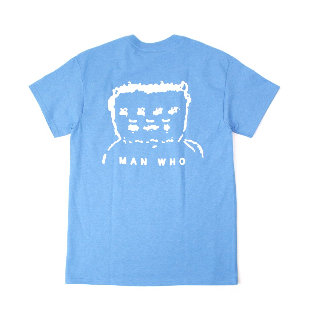 【MAN WHO】Man Who Tee - Heather Sapphire