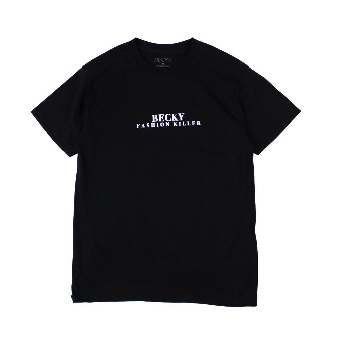 【Becky Factory】Fashion Killer Tee - Black
