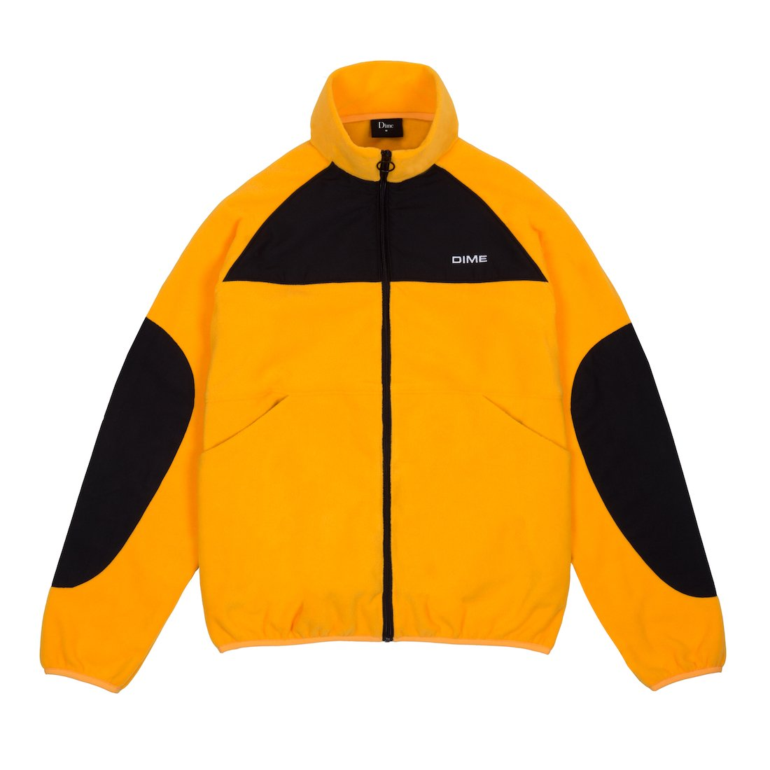 【Dime】Polar Fleece Track Jacket - Gold/Black