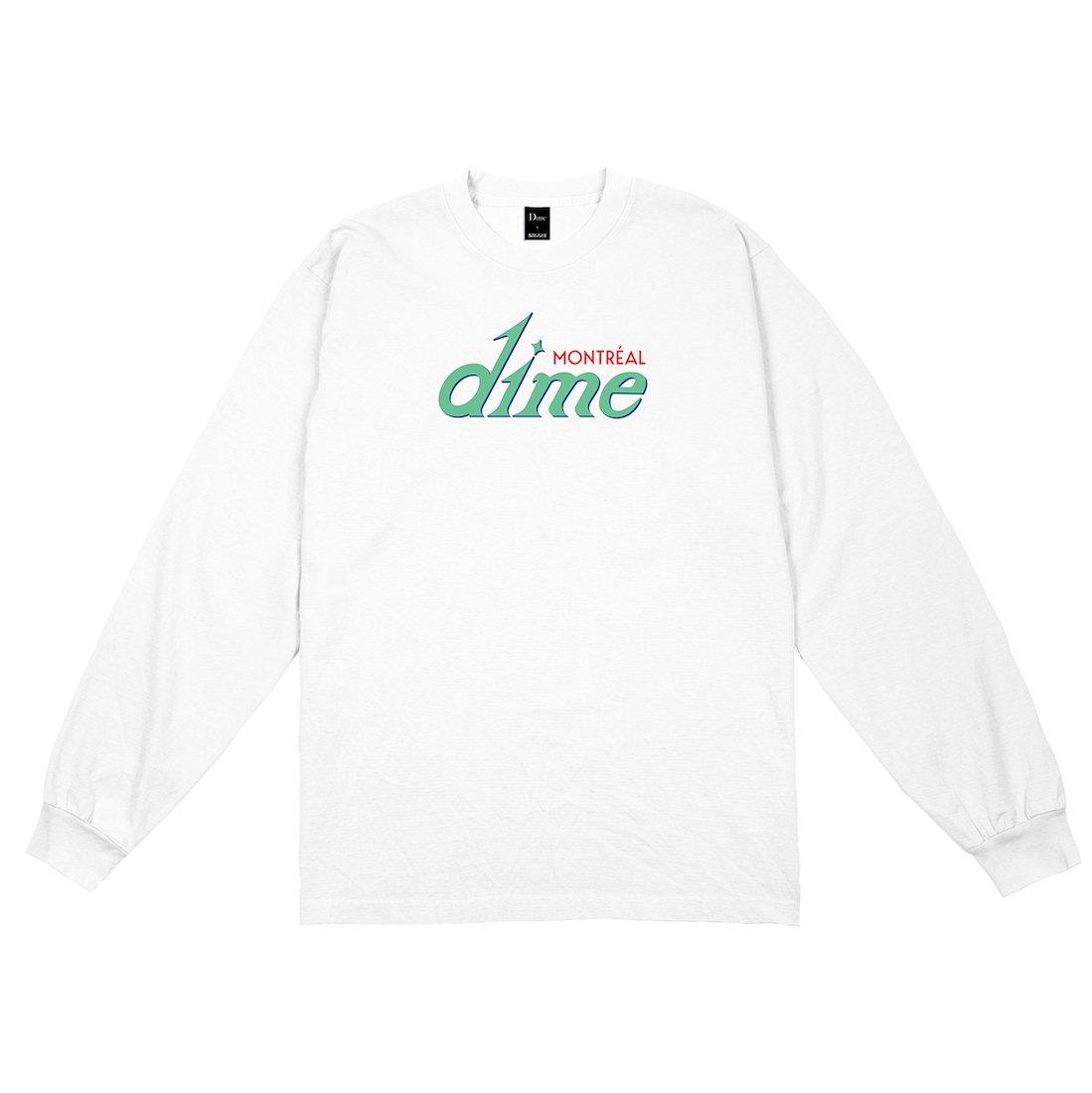 【Dime】Hotel L/S Tee - White