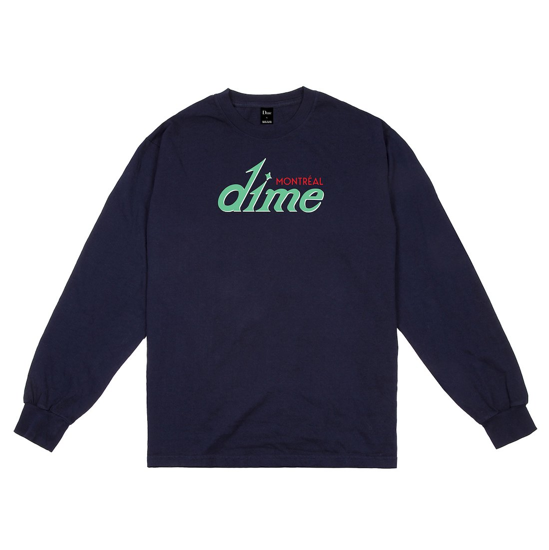 【Dime】Hotel L/S Tee - Navy