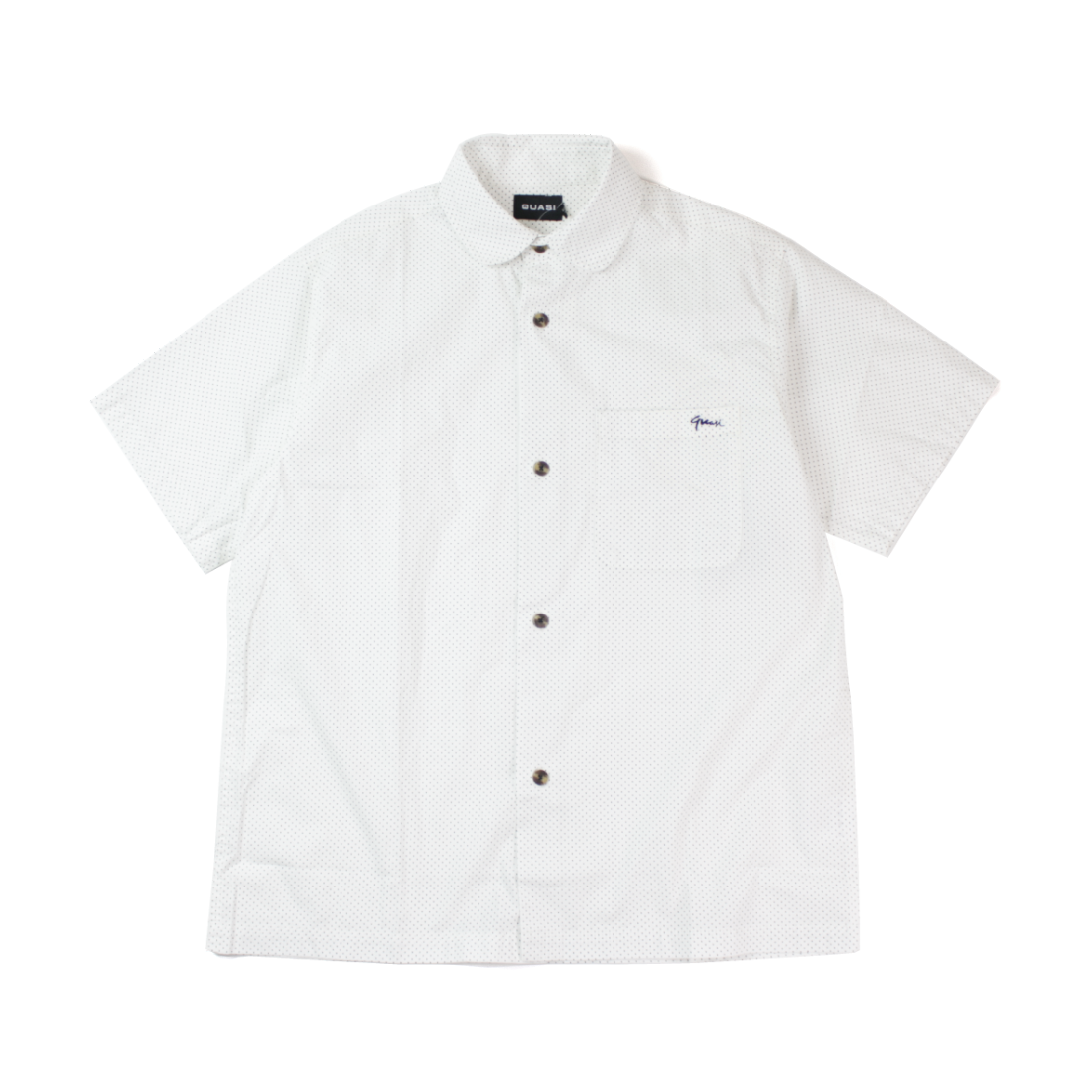 【Quasi】Pdot SS Button Up