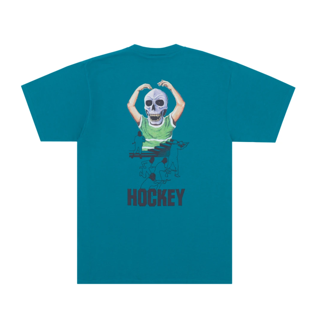 【Hockey】Skull Kid Tee - Teal