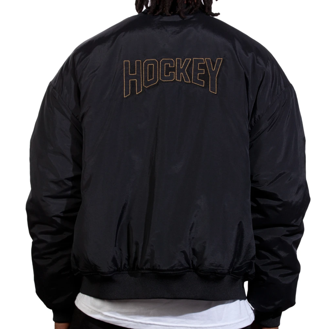 【Hockey】Starter Jacket - Black