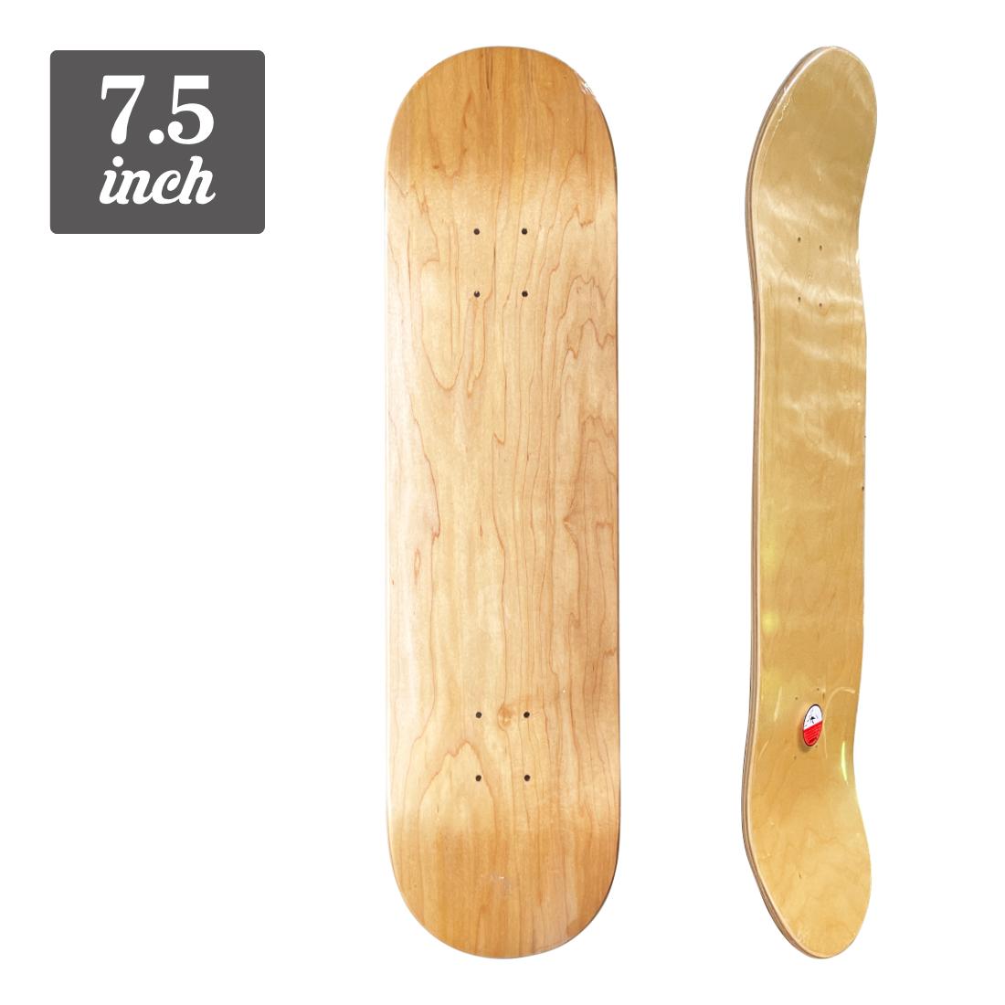 (子供用)【7.5】Blank Deck - Natural