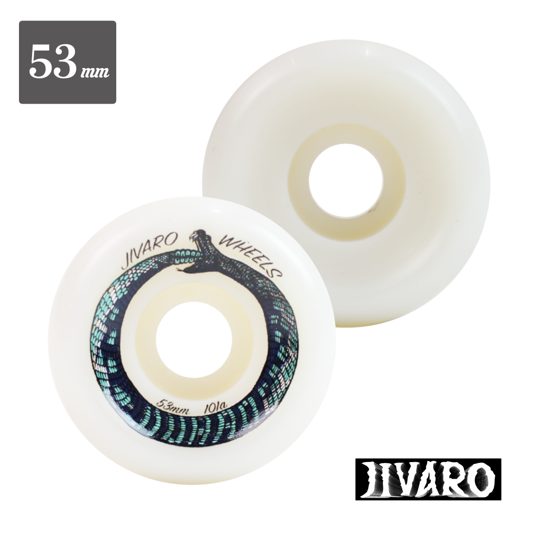 【Jivaro Wheels】Biters Side Cut - 53mm