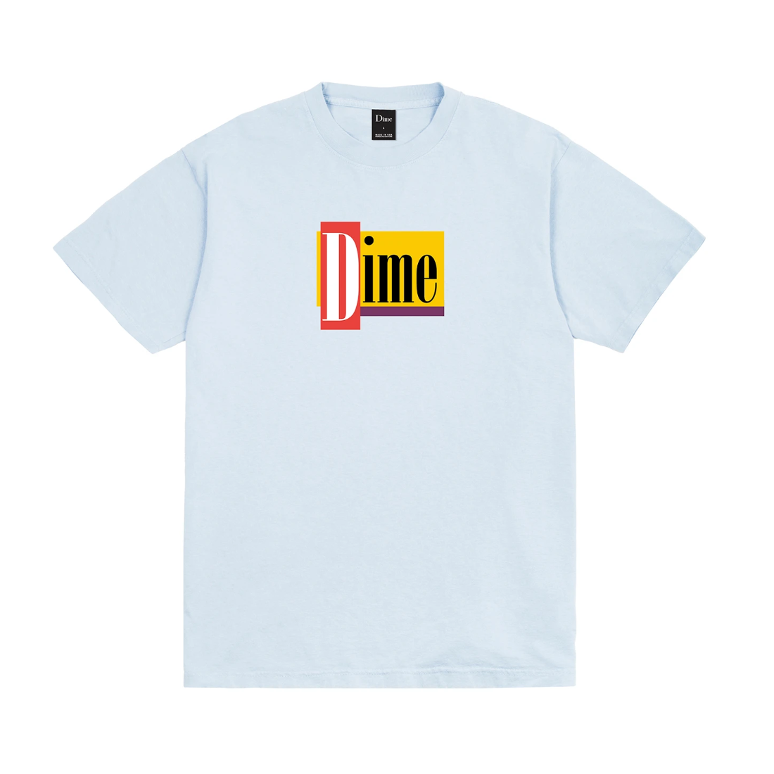 【Dime】Diner Tee - Light Blue