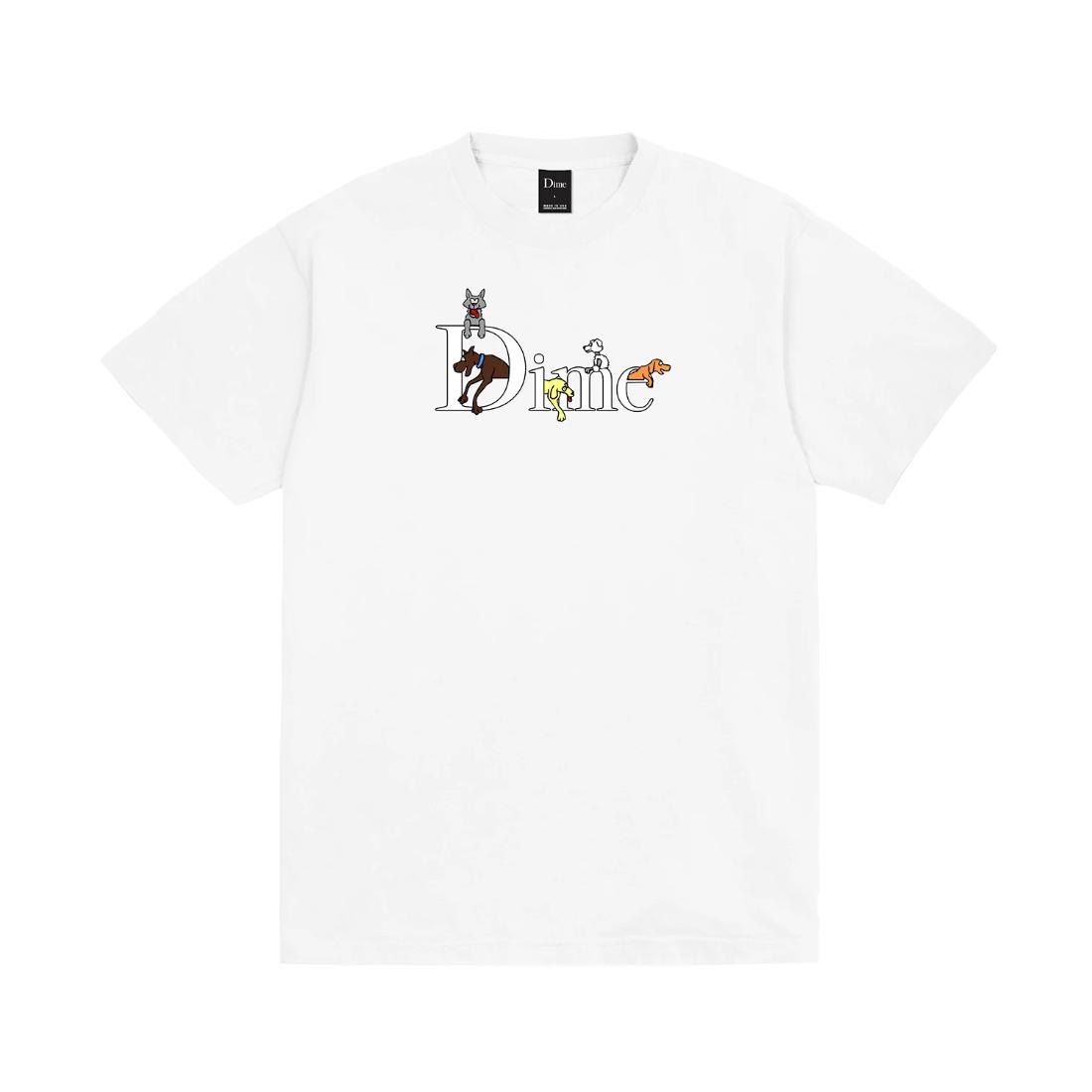 【Dime】Dog Classic Tee - White