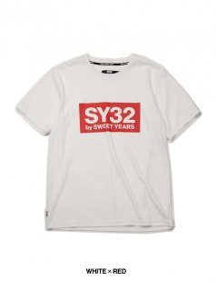 <img class='new_mark_img1' src='https://img.shop-pro.jp/img/new/icons25.gif' style='border:none;display:inline;margin:0px;padding:0px;width:auto;' />【SY32】COLOR BOX LOGO TEE
