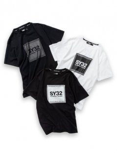 <img class='new_mark_img1' src='https://img.shop-pro.jp/img/new/icons14.gif' style='border:none;display:inline;margin:0px;padding:0px;width:auto;' />【SY32】SQUARE LOGO TEE